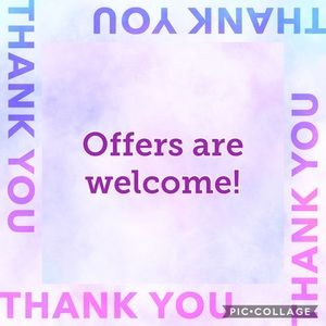Offers are always welcome 💜